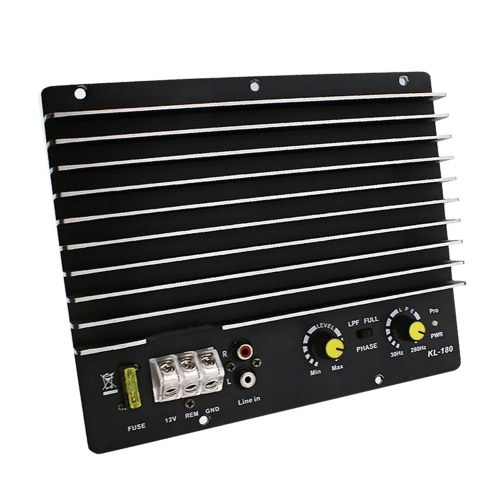 12V 1000W Car Audio Power Amplifier Subwoofer Power Amplifier Board Audio Diy Amplifier Board Car Player KL-180