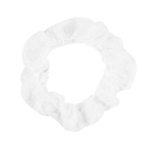 Universal Disposable Steering Wheel Cover, White Elastic Plastic Steering Wheel Cover