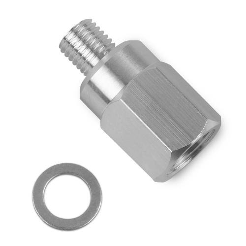 LS Swap Coolant Temperature Sensor Sending Unit Adapter M12 1.5 to 3/8 NPT LS1