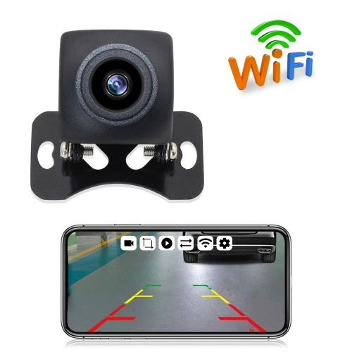 Wireless Backup Camera HD WIFI Rear View Camera WiFi Backup Camera with Night Vision