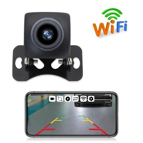 Беспроводная резервная камера HD WIFI Камера заднего вида WiFi Резервная камера с ночным видением