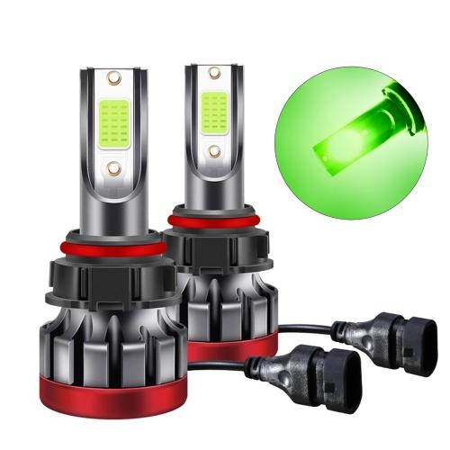 5202 2pcs IP68 Waterproof LED Headlight Bulbs 30W 3000 Lumens Super Bright LED Headlights Conversion Kit