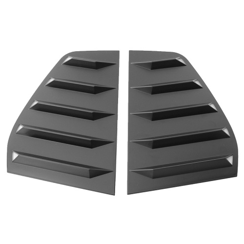 1 Pair of Black Side Window Scoop Louver Cover Replacement for Volkswagen Golf 6