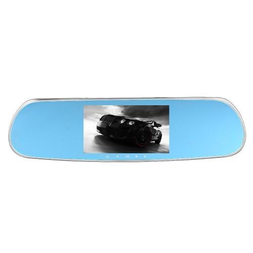 5 «1080P зеркало заднего вида системы Android умный автомобиль построен в GPS навигации WIFI двойной объектив DVR рекордер автомобиля камер с бесплатной картой города