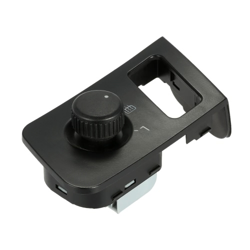 Car Side View Mirror Rear View Mirror Switch Adjust Control Knob with Heat for VW Touran Caddy
