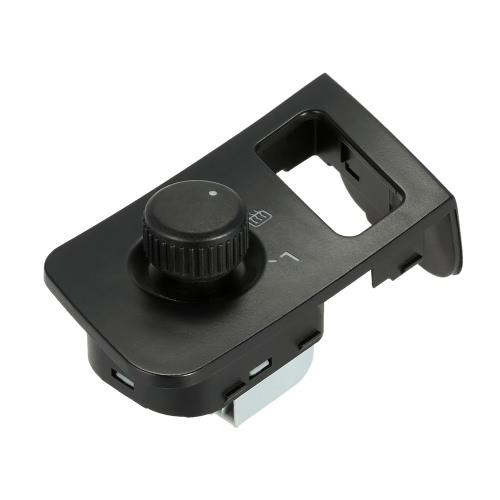 Voiture côté vue miroir rétroviseur commutateur régler le bouton de commande avec la chaleur pour VW Touran Caddy