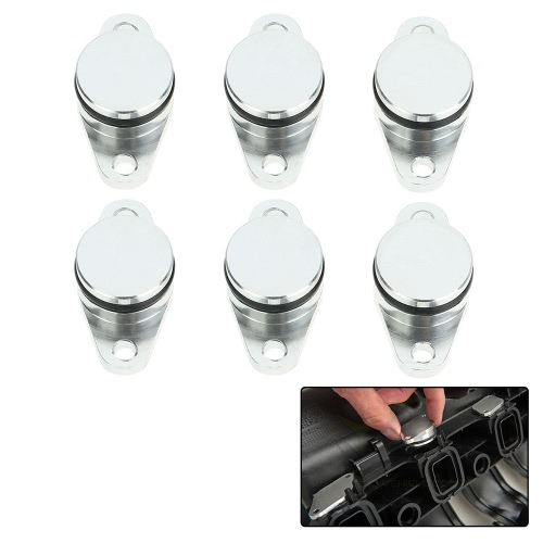 6 PCS 22 millimetri Diesel Swirl Flap Blanks sostituzione tappi per BMW 320d 330d 520d 525d 530d 730d
