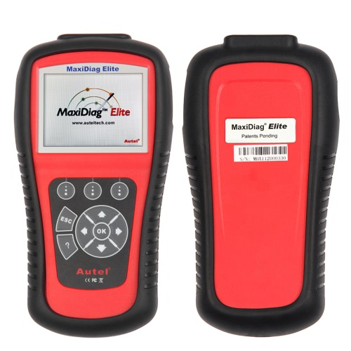 Autel Maxidiag Elite MD703 OBDII Car Diagnostic Scan Tool ALL System Code Scanner for Ford GM Chrysler