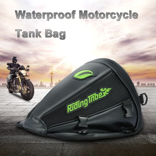 Pro-motocyklowe Zbiornik Zbiornik Wodoodporny Jeżdżenie Plecak Travel Tool Tail Bagaży