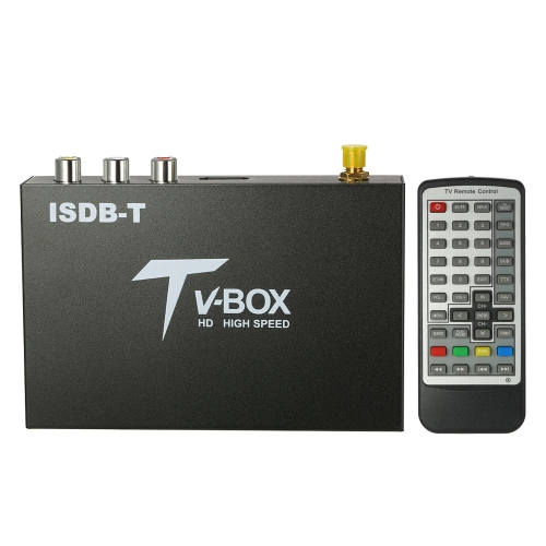 Car HD ISDB Full Seg Receiver ISDB-T Mini Mobile Digital TV Box (NOT Support B-CAS Card)