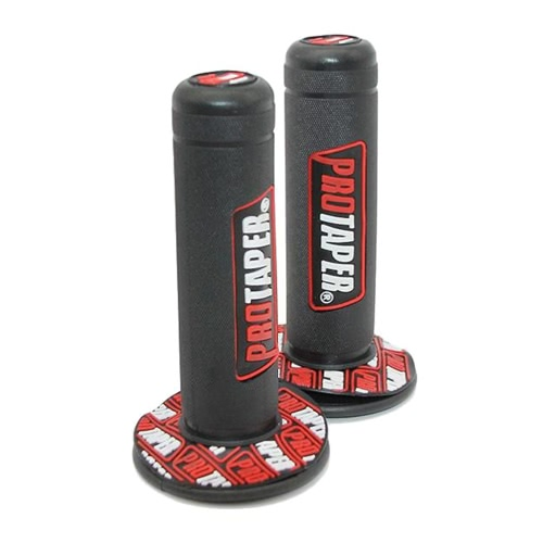 1 Pair High Quality Motorcycle Dirt Pit Bike 7/8'' Handlebar Rubber Universal Hand Grips Brake for Beach Motorcycles Scooter