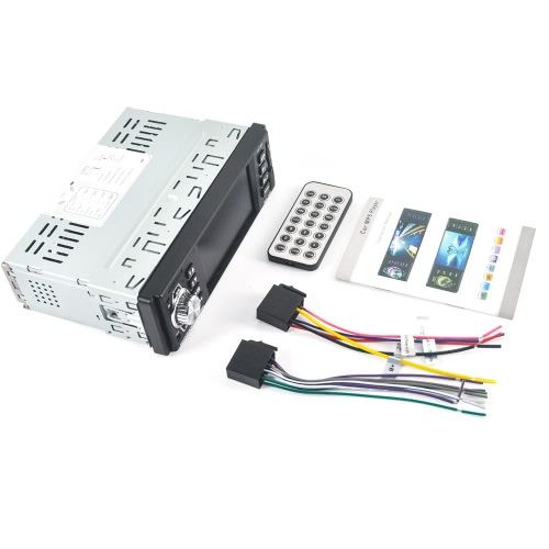 """4016C 4.1"""" TFT HD Digital Stereo Viehcle FM Radios MP3 MP5 Player with Steering Wheel Remote Control"""