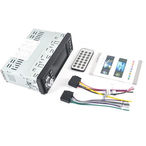 4016C 4,1 '' TFT HD Digital Stereo Viehcle FM Radios Lecteur MP3 MP5 avec télécommande au volant
