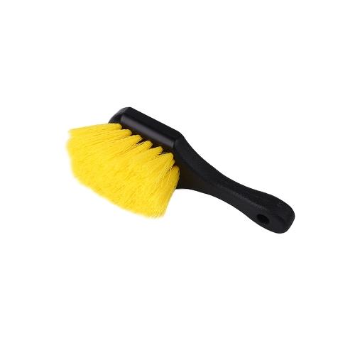 Práctico cepillo de lavado de coches Rueda Cepillo de limpieza de neumáticos Cuidado del coche Accesorios de mantenimiento Car Stying