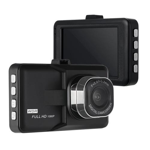 1080p Haute Définition Définition Véhicule De Voiture Vidéo 140 Degrés Grand Angle Caméra DVR Vision Nocturne avec 32 GB TF Carte Caméscope Numérique