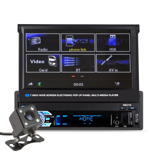 Universal 7inch 9601G Scale MP5 Player  Touch Screen With Rearview Camera