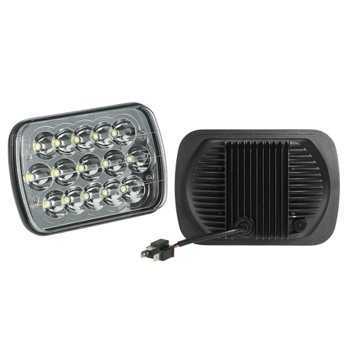 Pair of Rectangular 5X7 7X6inch 45W Sealed Beam LED Headlight Replacement IP 67 Waterproof for Jeep Cherokee XJ Truck