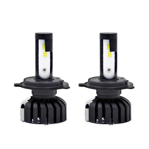 Ampoules de phares de voiture LED tout en un kit de lumière de conversion H7 6000K 8000LM