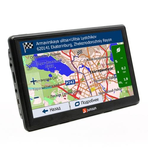 JS-D100S multifunción BT Car Multi-Media Player navegación con cámara de visión trasera y mapas gratis de Europa
