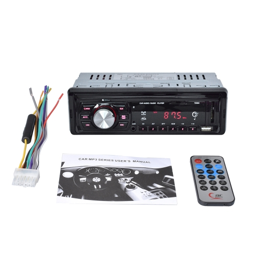 1 Din Car Radio Player Auto Audio MP3 Radio FM con control remoto