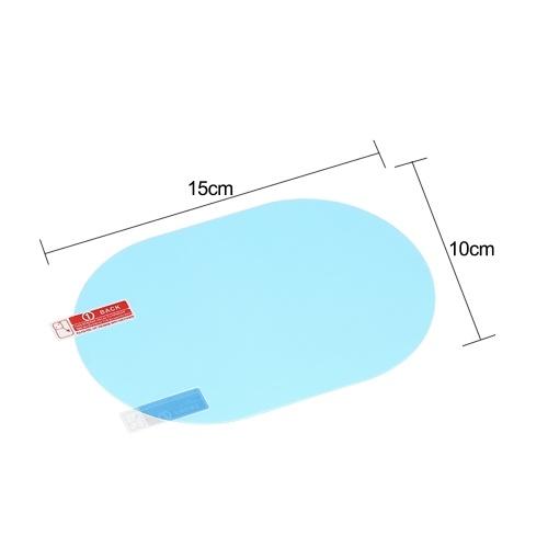 Защитная пленка зеркала заднего вида автомобиля 2PCS Anti противотуманная прозрачная противоударная зеркало заднего вида защитная мягкая пленка фото