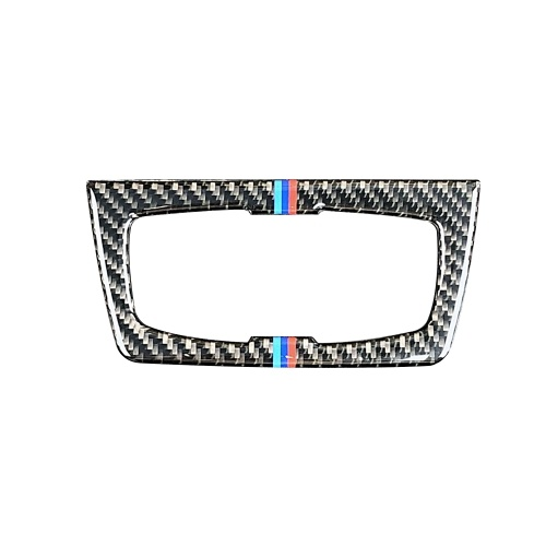 Кнопки переключателя фары для углеродного волокна Декоративная обложка для обложки обложки для обложки внутренней отделки наклейки для BMW F30 F31 F32 F33 F34 (2012-2020) фото