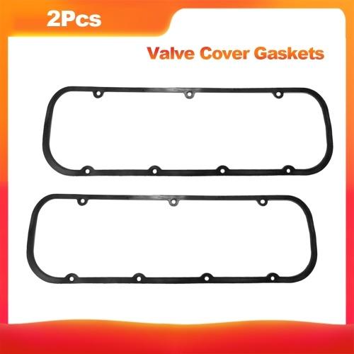 2Pcs Juntas de cubierta de válvula de goma de núcleo de acero del motor para Chevy 396 427 454 502