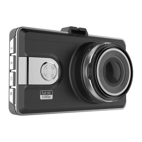 Anytek Q99P Auto DVR Kamera 1080P Parküberwachung Full HD Dash Cam Recorder 6 Weitwinkel-Ganzglaslinsen G-Sensor Nachtsicht