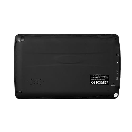 """7 """"HD сенсорный экран Портативный GPS-навигатор Планшетный GPS-навигатор 8GB 256MB Автомобильный стерео аудиоплеер с поддержкой Back + Free Map фото"""