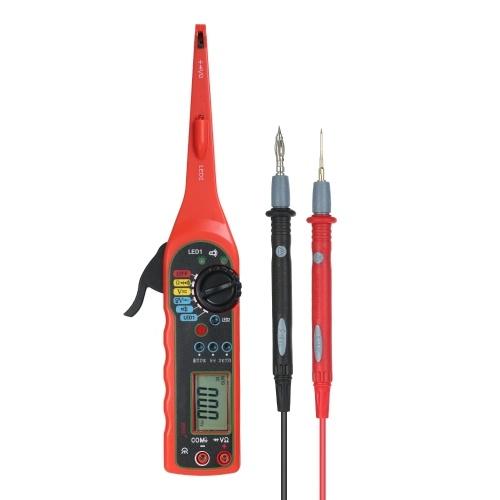 Multi-function Auto Circuit Detector Power Circuit Probe Kit Car Electric Circuit Voltage Tester Multimeter Car Diagnostics Tools