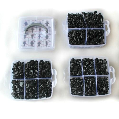635 Stück Karosserie-Kit Car Retainer Kunststoffclips Befestigungselemente 16 beliebtesten Größen