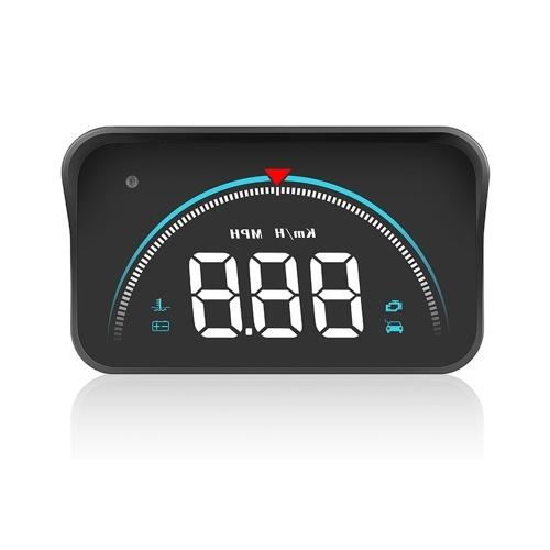 Интеллектуальный дисплей Heads Up Display Спидометр высокой четкости для автомобиля Heads Up Display Автомобильный цифровой спидометр