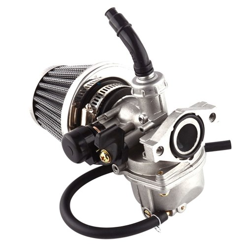 PZ19 Carburetor with Air Filter Fuel Filter for 50CC-125CC Dirt Bike ATV Scooter Moped