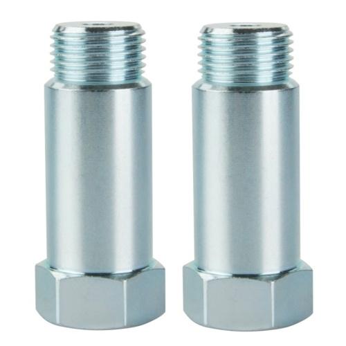 2 uds 55mm O2 adaptadores extensor de sensor de oxígeno espaciador de extensión M18 X 1,5 rosca