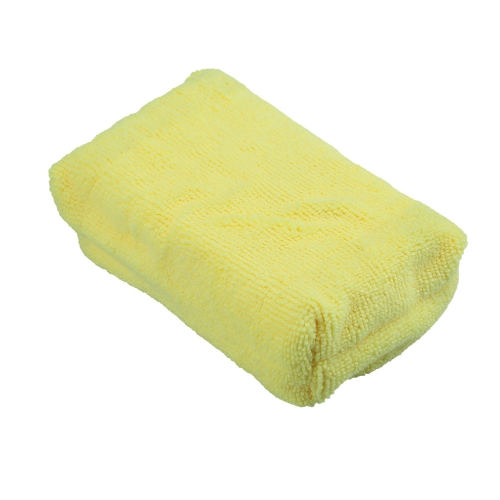 Microfiber Car Cleaning Sponge Cloth Multifunctional Wash Washing Cleaner Cloths Yellow