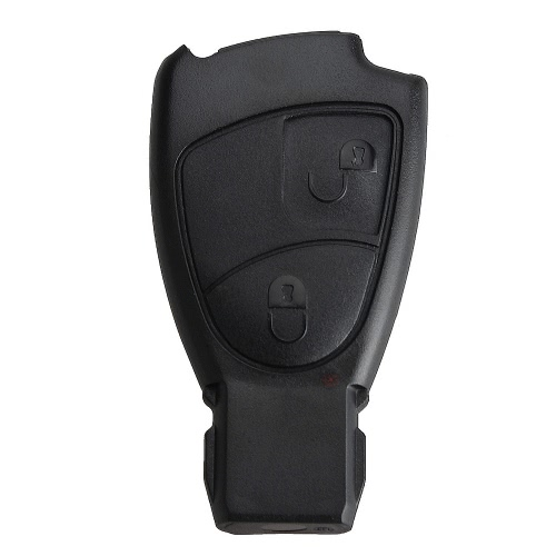 2 Button Key Shell Case Entry Remote Key Protection Cover Replacement for Mercedes Benz C E ML Class Sprinter