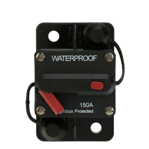 IZTOSS Waterproof 50Amp Circuit Breaker Overload Protection with Manual Reset Switch for Car Bus Truck Caravan Boat