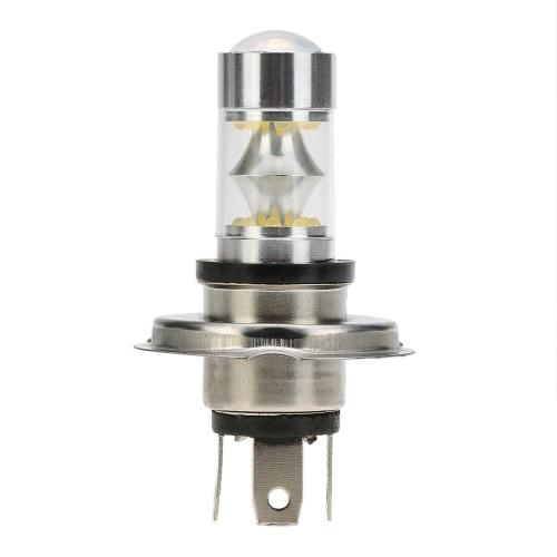 Sencart H4 P43T 100W 20xProfessional LED 2200LM 6500K for Car Turn Signal Light Daytime Running Light Fog Light White