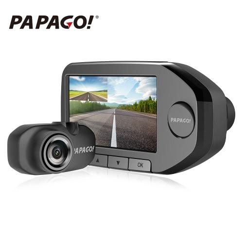 PAPAGO 2.7 inch Gosafe 360 Dual Lens Car DVR with Rear Camera