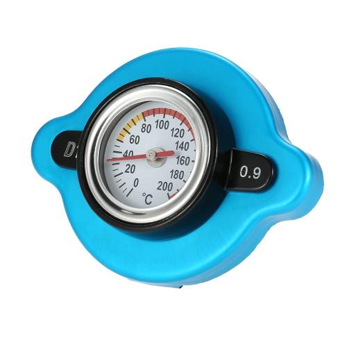 Image of 0.9 Bar Thermostat Kühlerdeckel mit Wassertemperatur Temperaturanzeige für LKW Gabelstapler Anhänger