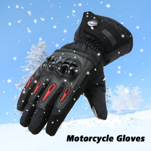 Pro-biker Winter Motorcycle Gloves -- XL