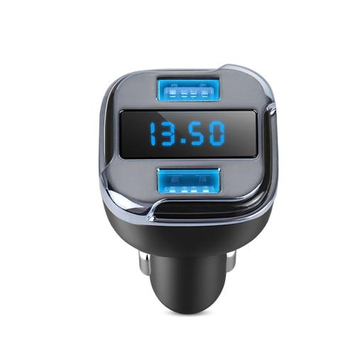 GPS Localize E5 Dual USB Port Fast Charger DC 5V / 12V / 24V para adaptador de telefone