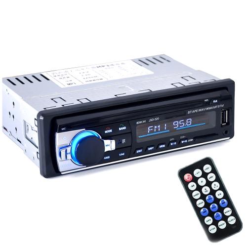 Lettore audio radio stereo per auto multifunzione BT