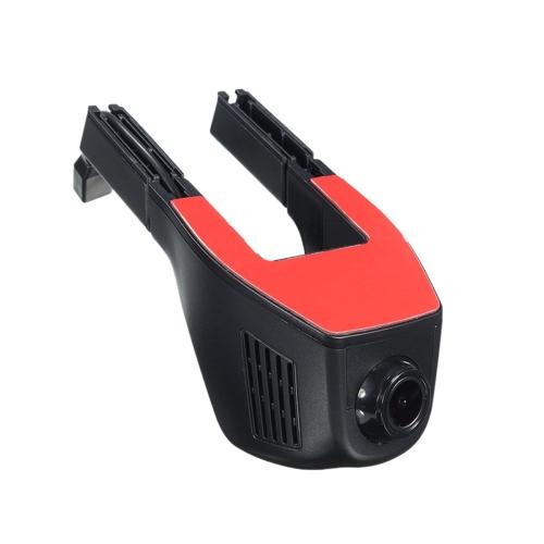 HD 170 ° 1080P Wifi Hidden Car DVR Vehicle Recorder