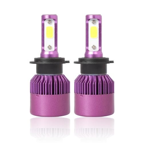 Kits pourpre de conversion de phare 6500K 40W de voiture de l'ÉPI LED de voiture d'ampoule de voiture de lumière principale universelle H1 / H4 / H7 / H11