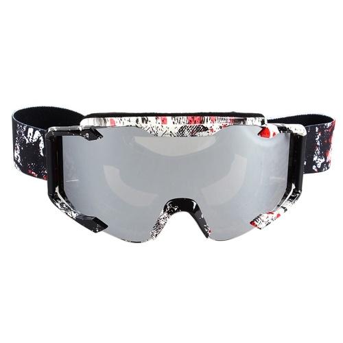 Nowy kask motocyklowy MX Off Road Helmet Ski Sport Gafas