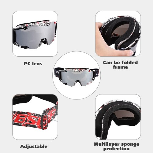 New Motocross Goggles Cycling MX Off Road Helmet Ski Sport Gafas For Motorcycle Dirt Bike Racing Goggles
