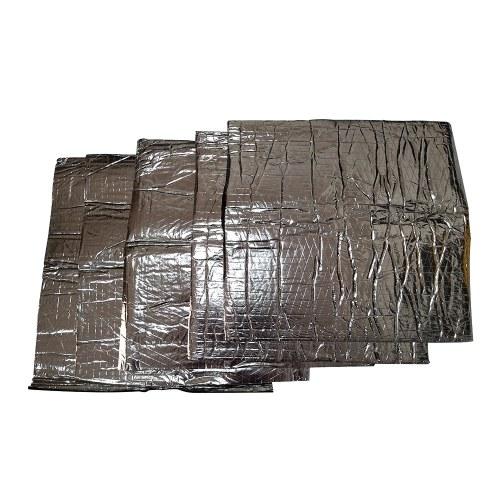 5Pcs 10mm 500x500mm 20〃x20〃 Auto Car Truck Firewall Heat Sound Deadener Insulation Mat