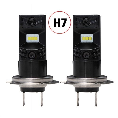Nighteye H7 80W 800LM with CSP LED Chips Bulb 6500K White Fog Lamps DRL LED Lights