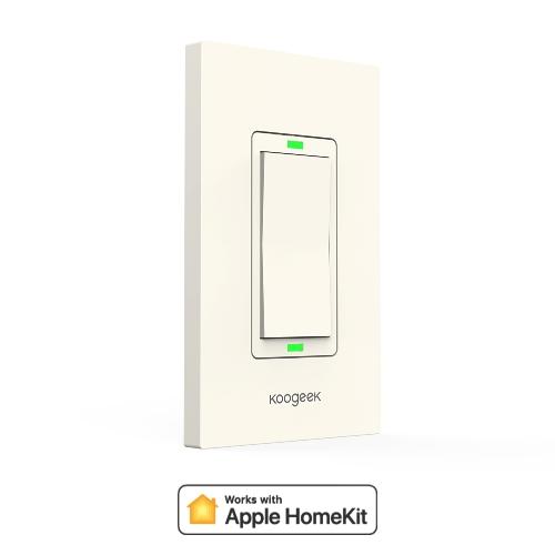 Koogeek Wi-Fi Smart Light Dimmer Arbeitet mit Apple HomeKit
